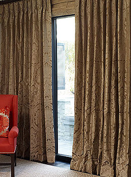 Chateau Damask Drapes