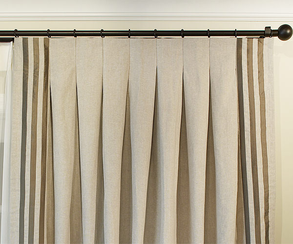 Inverted Drapery Pleat