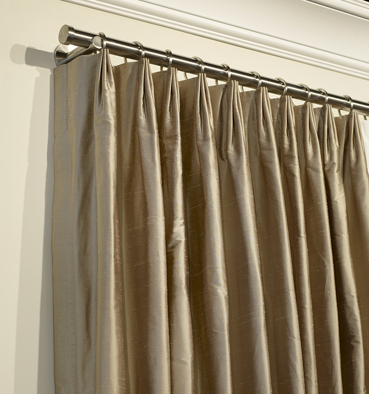 Custom voile drapery for Different styles of drapes