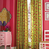 Kids Room Drapes by DrapeStyle in Bliss Watermellon