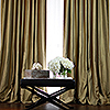 Antique Gold Custom Silk Drapery