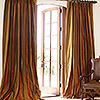 Veranda Stripe 14, French Pleat
