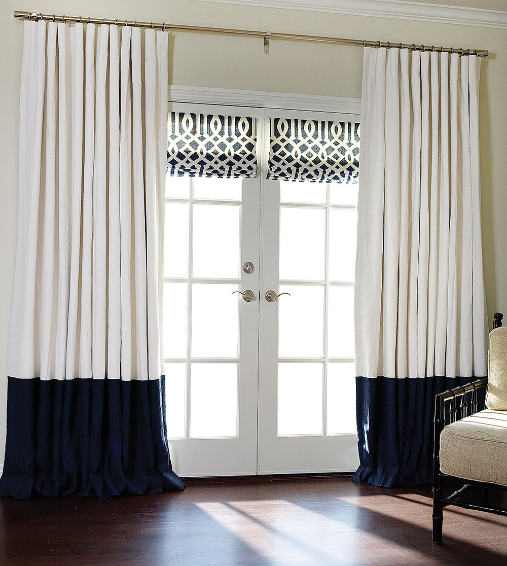 bedroom drapes curtains white fresh marvelous and for navy blue