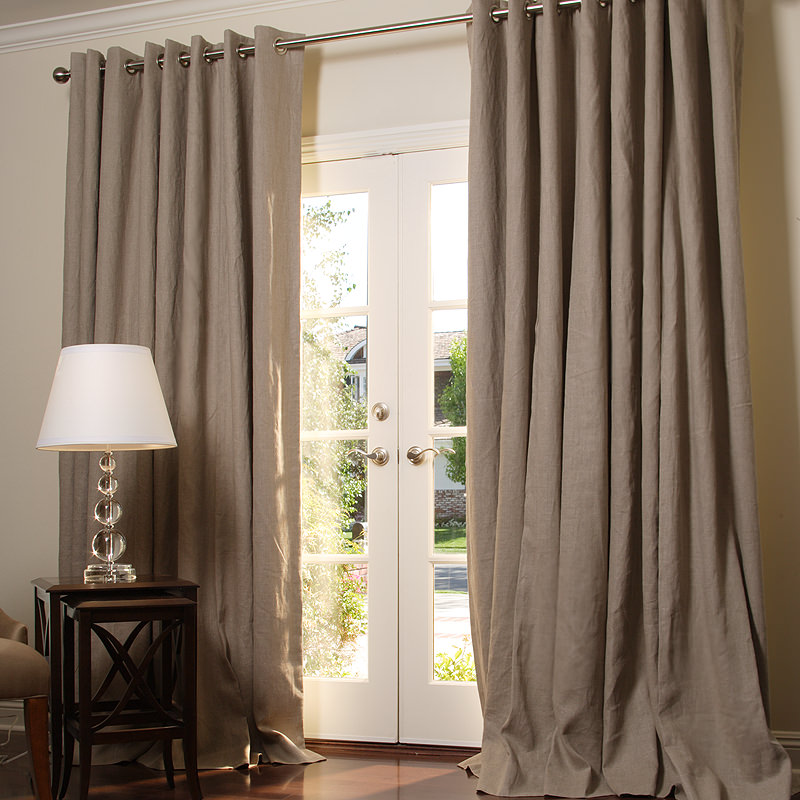 linen to image curtain ways wikihow wash titled curtains step