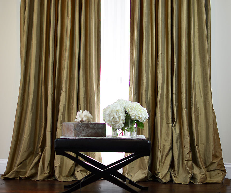 Finest Custom Silk Drapes: Drapestyle.com WX57