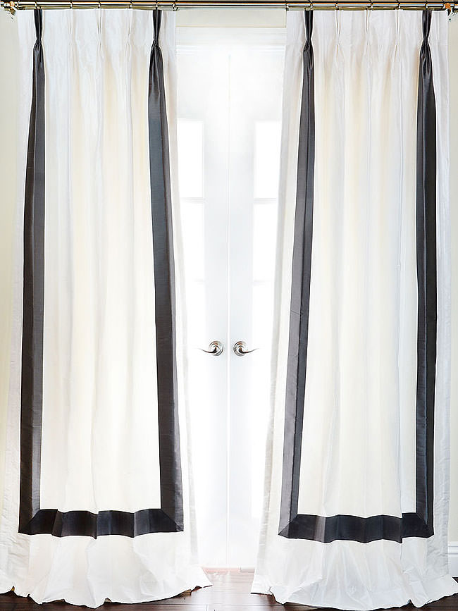 curtains window room sale blackout for bedroom white home hotel color solid living drapes