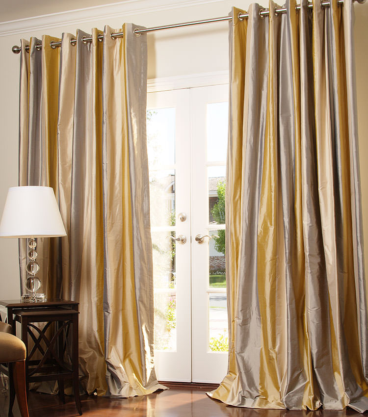 blackout curtains raw grommet keyword plant of silk panels solid city thermal set wayfair curtain