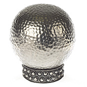 Global Elements Hammered Ball Finial