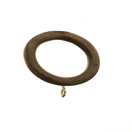Zen Wood Drapery Ring