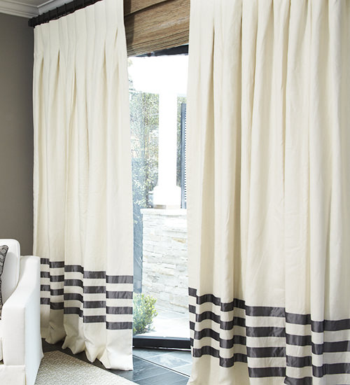 curtains drape custom com with pleat parisian napa drapery drapes chocolate linen floral patterned drapestyle