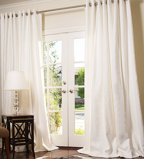 Manhattan Blended Linen Drapes