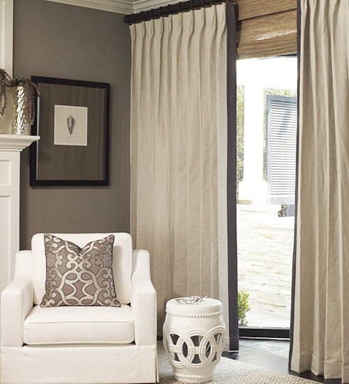 Belgian Estate Linen Custom Drapes