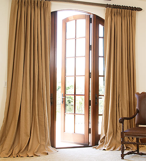 Pinch Pleat Drapes Curtains Custom Made To Your Exact Measurements With Regard To Drapes