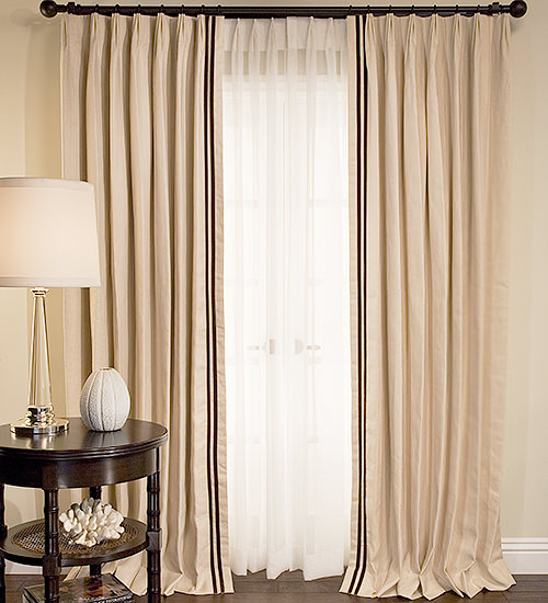 window drapes collection legacy panel com ch double treatments