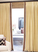 Custom Edge-Banded Drapes