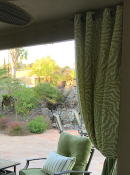 Designer Outdoor Drapes