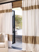Fairmont Custom Silk Drapes