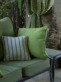 Solid Sunbrella Outdoor Pillows