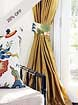 Solid Silk Drapes