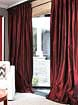 Solid Silk Taffeta Drapes