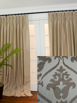 Custom Drapes In Designer Fabrics At Discounts Of Up To 75 Off Retail