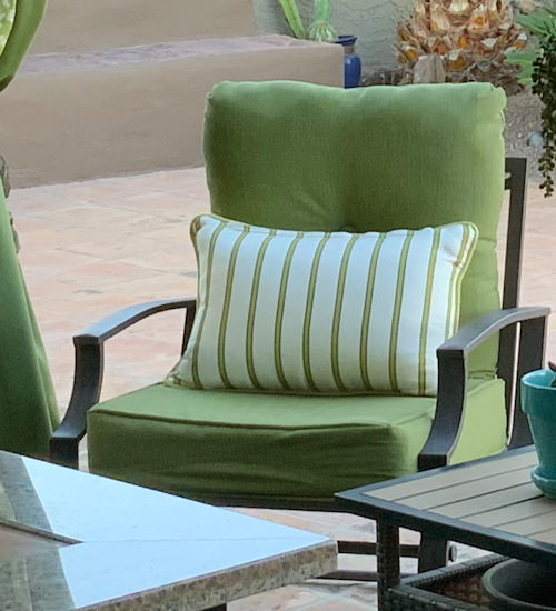 Custom Outdoor Designer Pillows