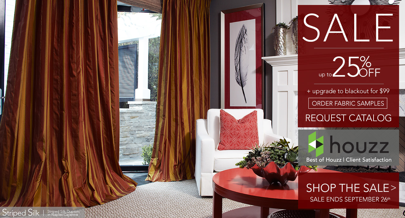 Custom Curtains and Drapes by DrapeStyle
