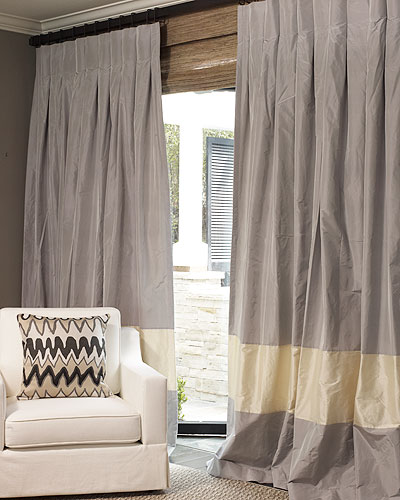 Hand Made The Parker Drape And Roman Blinds On Sale