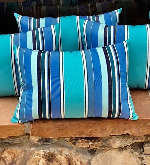 DrapeStyle Patterned Sunbrella Pillows